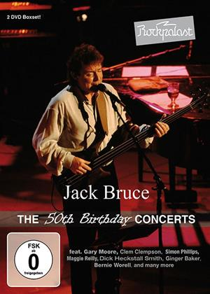 Rent Jack Bruce: The 50th Birthday Concerts Online DVD Rental