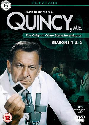Rent Quincy M.E.: Series 1 and 2 Online DVD Rental