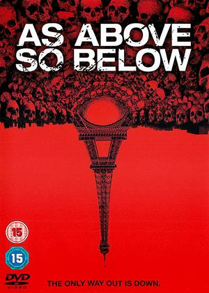 Rent As Above, So Below Online DVD & Blu-ray Rental