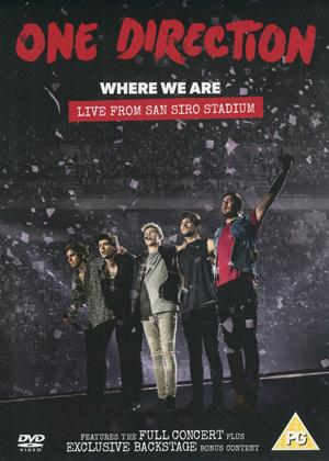 Rent One Direction: Where We Are: Live from San Siro Stadium Online DVD & Blu-ray Rental