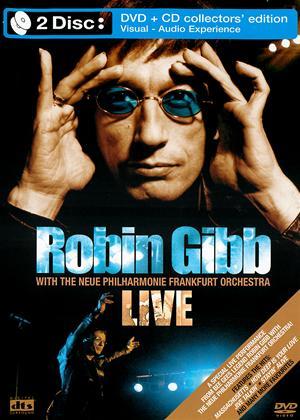 Rent Robin Gibb with the Neue Philharmonie Frankfurt Orchestra Live Online DVD Rental