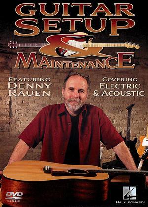 Rent Guitar Setup and Maintenance Online DVD Rental