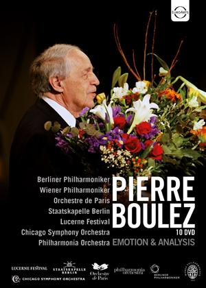 Rent Pierre Boulez: Emotion and Analysis Online DVD & Blu-ray Rental