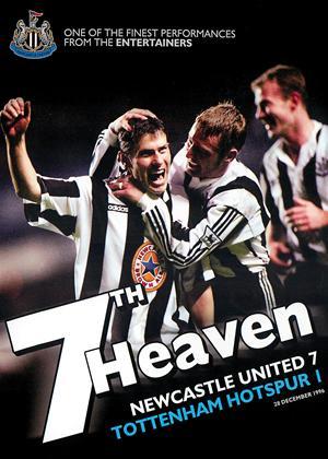 Rent Newcastle United: 7th Heaven: Newcastle 7 Tottenham Hotspur 1 Online DVD Rental