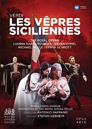 Rent Les Vêpres Siciliennes: Royal Opera House (Pappano) Online DVD Rental