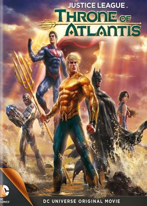 Rent Justice League: Throne of Atlantis Online DVD Rental