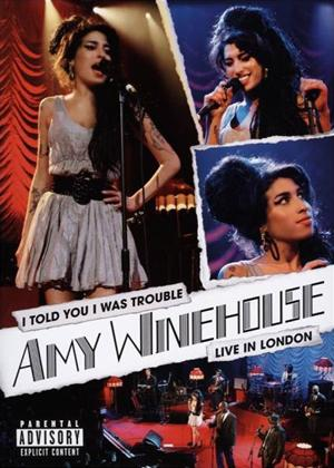 Rent Amy Winehouse: I Told You I Was Trouble Online DVD & Blu-ray Rental