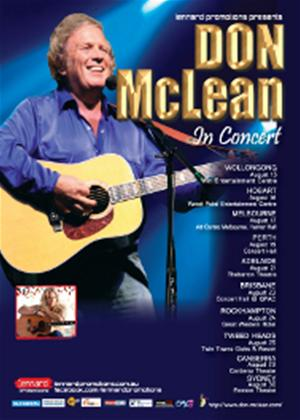 Rent Don McLean: Live in Concert Online DVD Rental