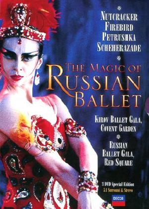 Rent The Kirov Ballet: The Magic of The Russian Ballet Online DVD Rental