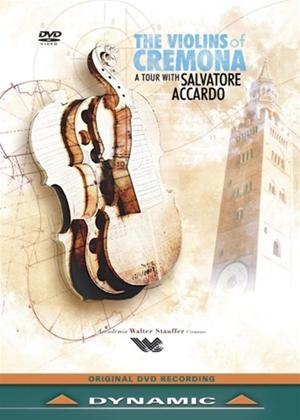 Rent The Violins of Cremona: A Tour with Salvatore Accardo Online DVD Rental