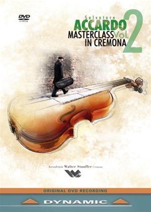 Rent Salvatore Accardo: Masterclass in Cremona: Vol.2 Online DVD Rental
