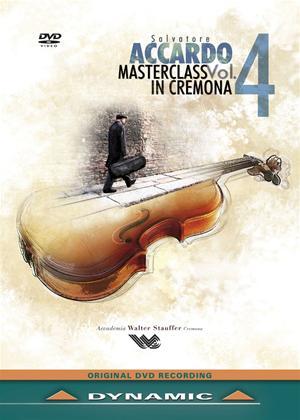 Rent Salvatore Accardo: Masterclass in Cremona: Vol.4 Online DVD Rental