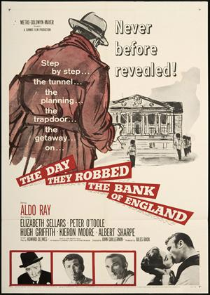Rent The Day They Robbed the Bank of England Online DVD & Blu-ray Rental