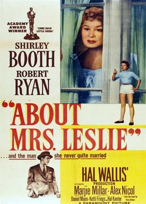 Rent About Mrs Leslie Online DVD & Blu-ray Rental