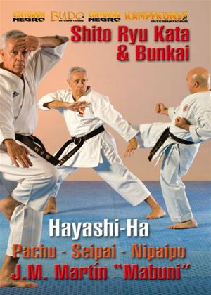 Rent Karate Shito-ryu Hayashi-ha: Kata and Bunkai Online DVD Rental