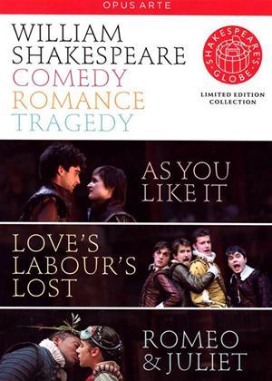 Rent Shakespeare's Globe: Comedy, Romance, Tragedy Online DVD & Blu-ray Rental