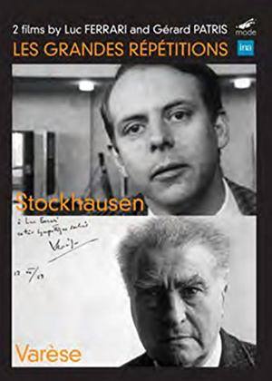 Rent Les Grandes Répétitions: Stockhausen / Varèse Online DVD & Blu-ray Rental