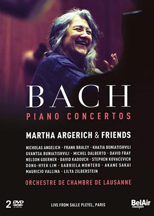 Rent Martha Argerich and Friends: Bach Piano Concertos Online DVD Rental