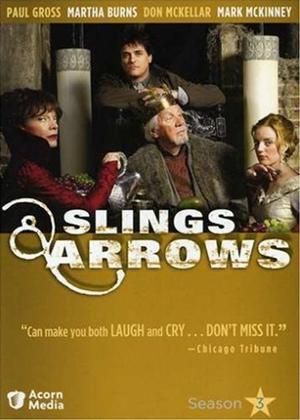 Rent Slings and Arrows: Series 3 Online DVD & Blu-ray Rental