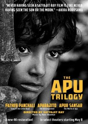 Rent The Apu Trilogy: Pather Panchali; Aparjito; Apur Sansar (aka Song of the Little Road / The World of Apu / The Unvanquished) Online DVD Rental