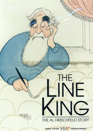 Rent The Line King: The Al Hirschfeld Story Online DVD Rental
