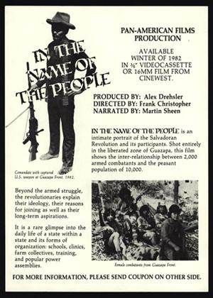 Rent In the Name of the People Online DVD Rental