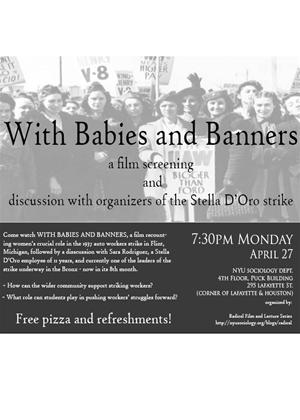 Rent With Babies and Banners: Story of the Women's Emergency Brigade Online DVD Rental