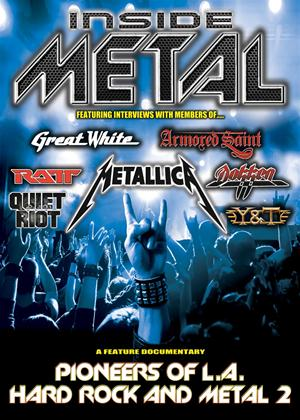 Rent Inside Metal: Pioneers of L.A. Hard Rock and Metal: Vol.2 Online DVD Rental