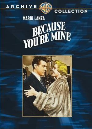 Rent Because You're Mine Online DVD Rental