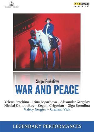 Rent War and Peace (Prokofiev): Kirov Opera Online DVD Rental