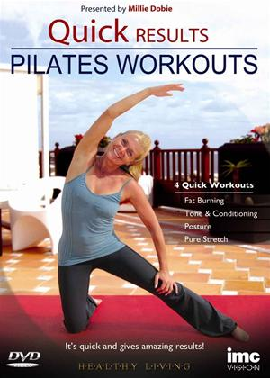 Rent Quick Results Pilates Workout Online DVD Rental