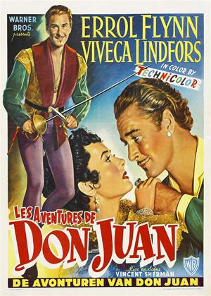 Rent The Adventures of Don Juan Online DVD Rental