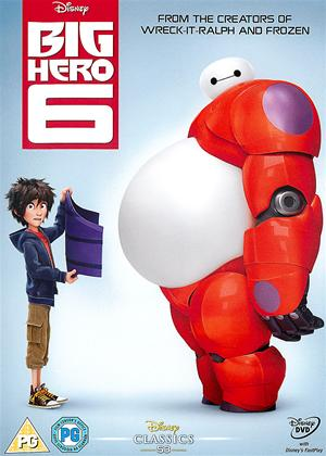 Big Hero 6 Online DVD Rental