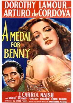 Rent A Medal for Benny Online DVD Rental