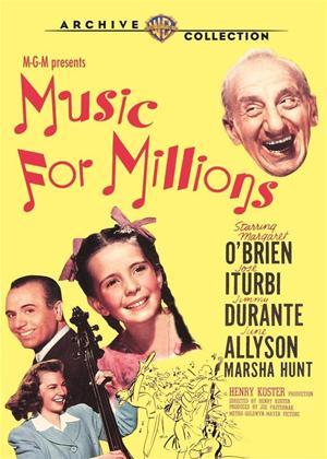 Rent Music for Millions Online DVD Rental