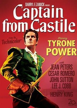 Rent Captain from Castile Online DVD Rental
