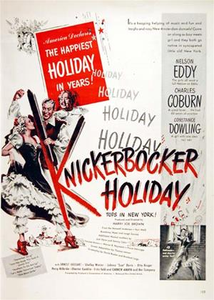 Rent Knickerbocker Holiday Online DVD & Blu-ray Rental