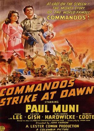 Rent Commandos Strike at Dawn Online DVD Rental