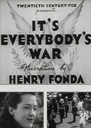 Rent It's Everybody's War Online DVD Rental