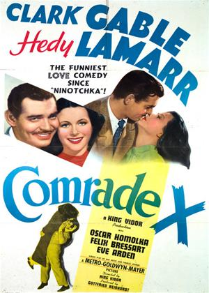 Rent Comrade X Online DVD & Blu-ray Rental