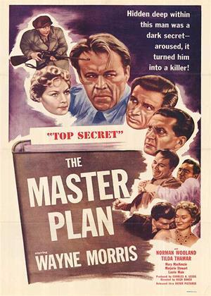 Rent The Master Plan Online DVD Rental