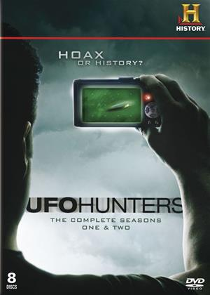 Rent UFO Hunters: Series 1 and 2 Online DVD Rental