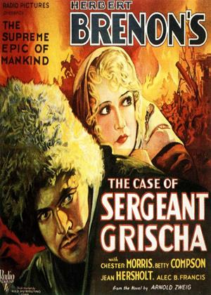 Rent The Case of Sergeant Grischa Online DVD Rental