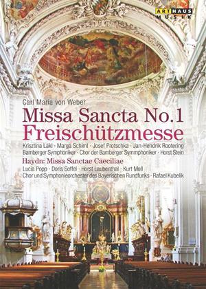 Rent Von Weber/Haydn: Missa Sancta No. 1/Missa Sanctae Caeciliae Online DVD Rental