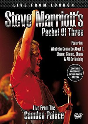 Rent Steve Marriott's Packet of Three: Live from London Online DVD Rental