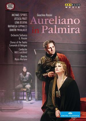 Rent Aureliano in Palmira: Rossini Opera Festival (Crutschfield) Online DVD Rental