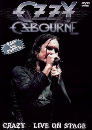 Rent Ozzy Osbourne: Crazy: Live on Stage Online DVD & Blu-ray Rental