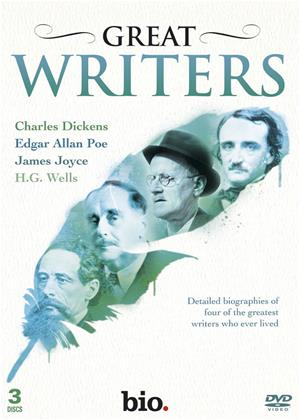 Rent Great Writers: Dickens, Poe, Joyce, Wells Online DVD Rental