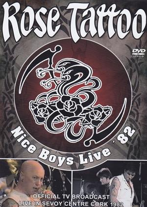 Rent Rose Tattoo: Nice Boys Live Online DVD Rental