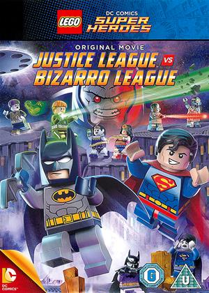 Rent Lego: Justice League vs. Bizarro League Online DVD Rental